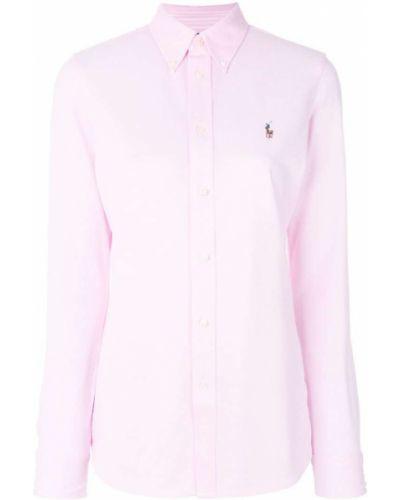 Рубашка с длинным рукавом оксфордская Polo Ralph Lauren