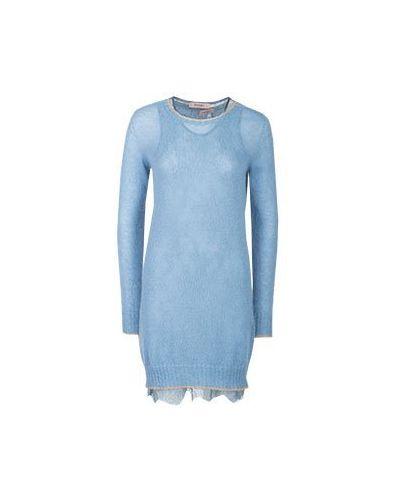 Повседневное платье теплое гипюровое Twinset