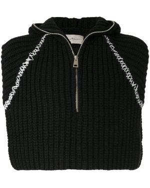 Черный пуловер Necessity Sense