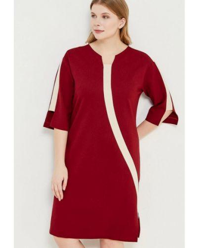 Платье бордовый красный Lucky Move
