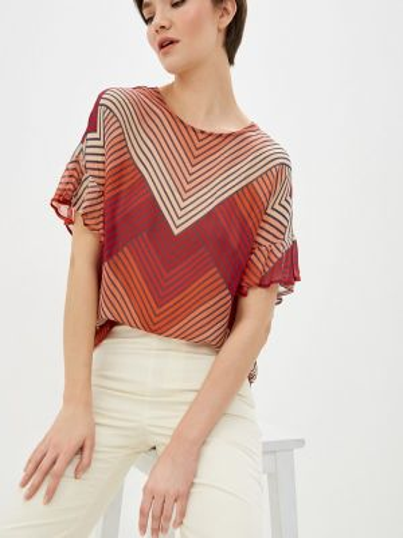 Блузка с коротким рукавом весенний Twinset Milano