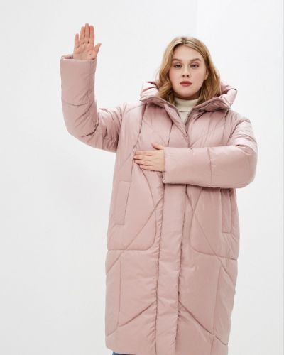 Утепленная розовая куртка Lanicka