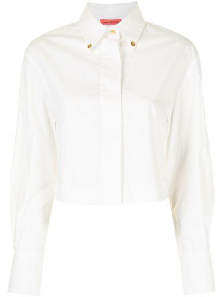 Biała koszula z długimi rękawami - biała Manning Cartell