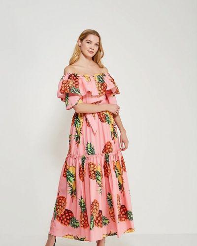 Платье розовое осеннее Marissimo