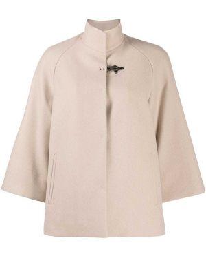 Расклешенный кашемировый пиджак на пуговицах Fay