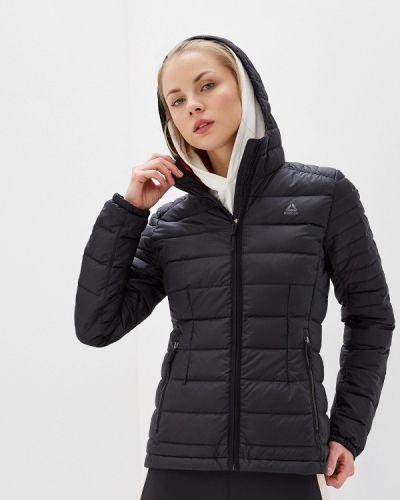 Зимняя куртка черная осенняя Reebok