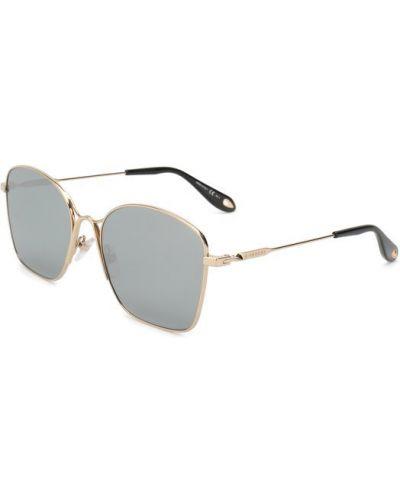 Серые солнцезащитные очки Givenchy