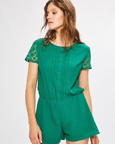 Зеленый комбинезон Answear
