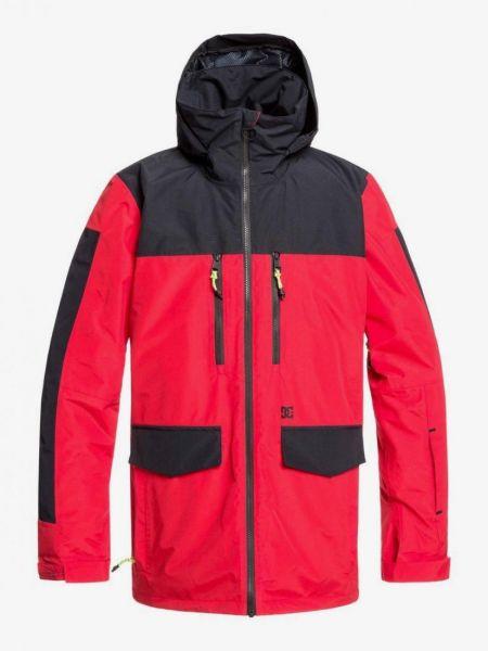 Куртка горнолыжная с капюшоном - красная Dc Shoes