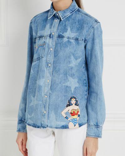 Джинсовая рубашка на кнопках с карманами Paul & Joe Sister
