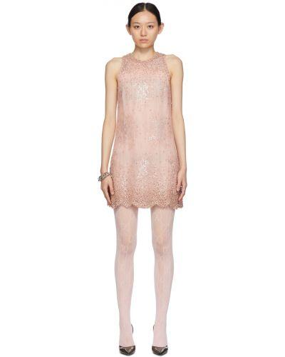 Кружевное платье - белое Blumarine