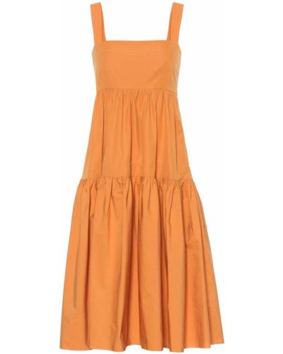 Летнее платье миди из штапеля Three Graces London