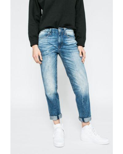 Прямые джинсы с эффектом потертости на пуговицах G-star Raw