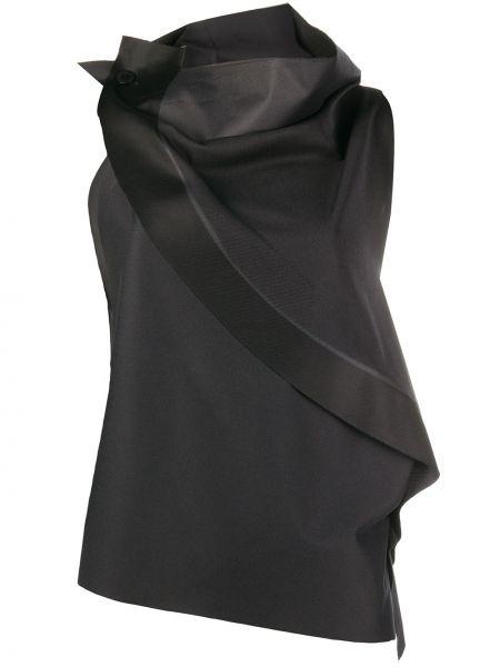 Bluzka bez rękawów asymetryczna 132 5. Issey Miyake