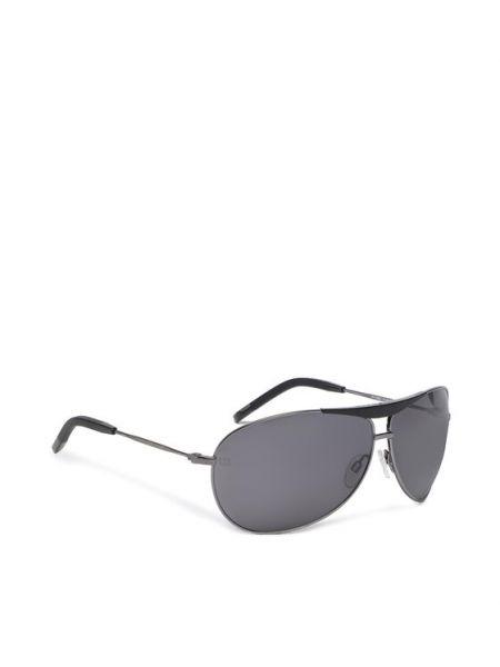 Okulary - czarne Tommy Hilfiger