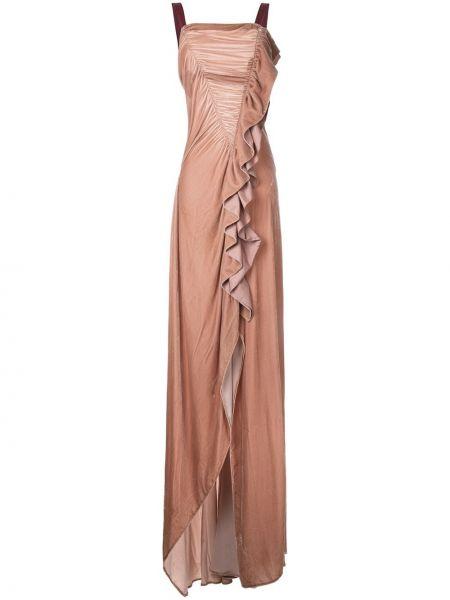 Вечернее шелковое вечернее платье Bianca Spender