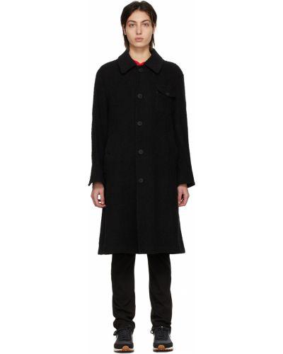 Черное длинное пальто Undercover