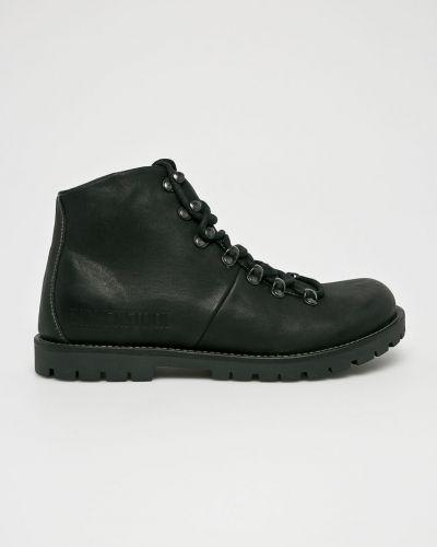 Ботинки на шнуровке кожаные высокие Birkenstock