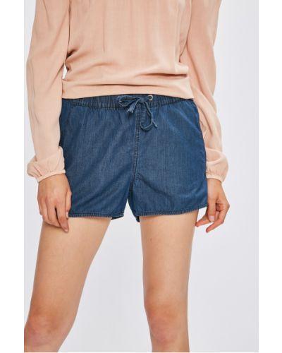 Шорты с завышенной талией джинсовые Vero Moda