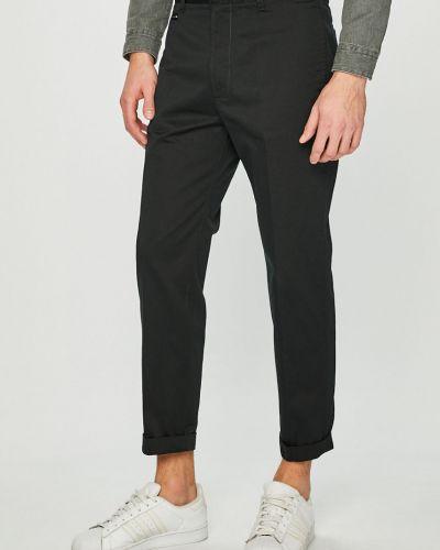 Прямые брюки с карманами с поясом Diesel