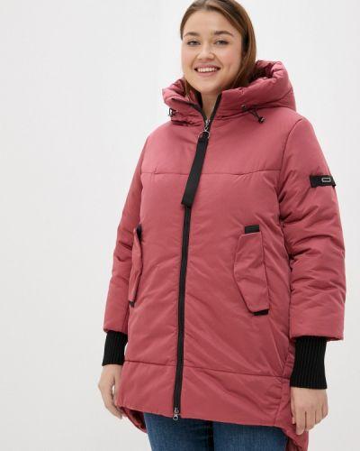 Утепленная куртка - розовая Grafinia