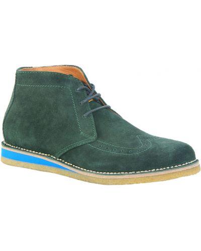 Кожаные ботинки замшевые осенние Dsquared2