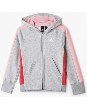 Толстовка серая Adidas