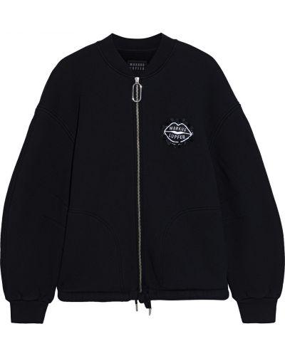 Ватная флисовая черная куртка Markus Lupfer