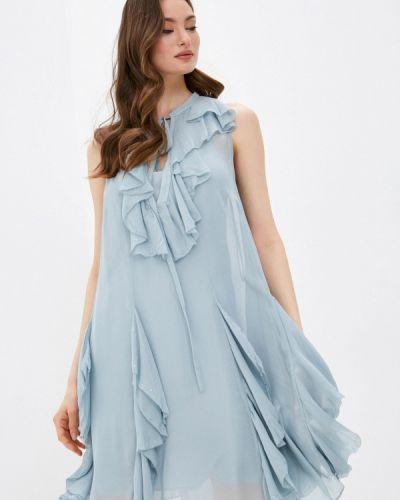Платье - голубое Twinset Milano