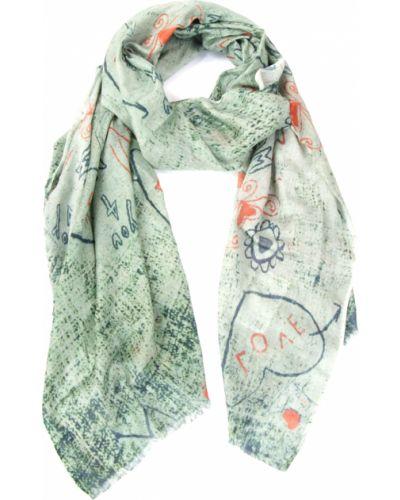 Зеленый шарф осенний Passigatti