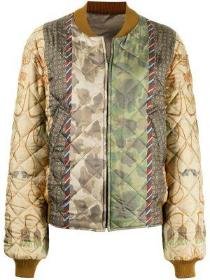 Куртка в цветочный принт Pierre-louis Mascia
