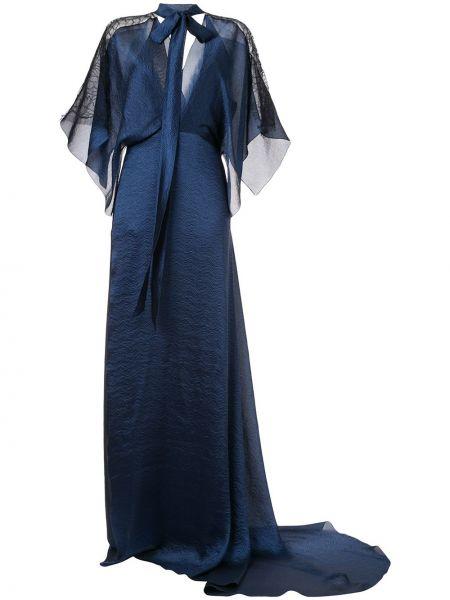 Платье с рукавами приталенное Roland Mouret