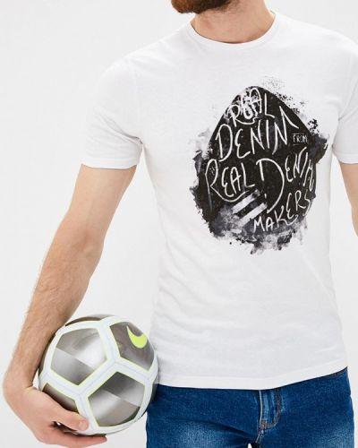 Белая футболка Only & Sons