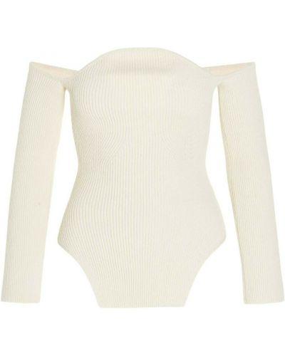Biały sweter Khaite