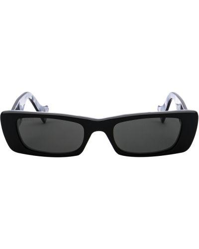 Okulary skorzane - czarne Gucci