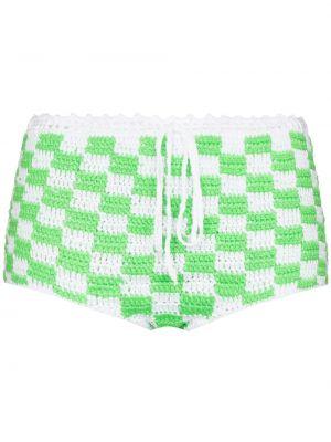 Пляжный плавки - зеленый Frankies Bikinis