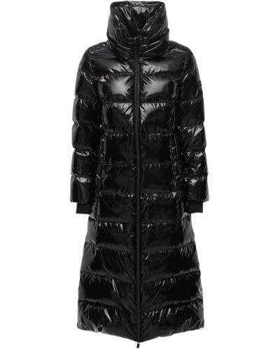 Nylon czarny kurtka z mankietami z kieszeniami Tatras