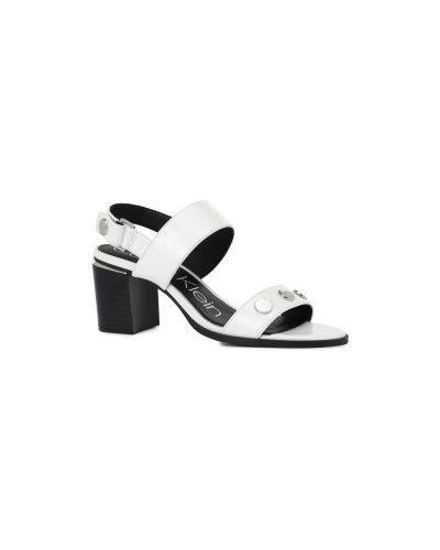 Босоножки белые Calvin Klein