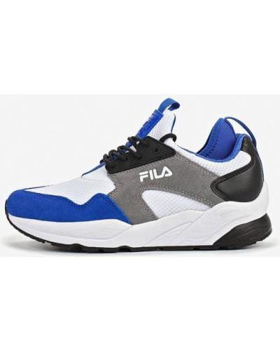 Кроссовки низкие замшевые Fila