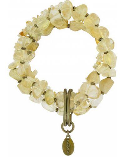 Золотой браслет из золота золотой Nature Bijoux