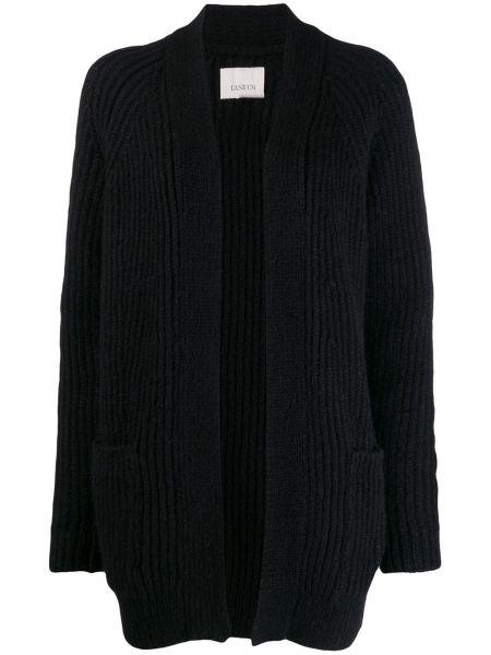 Черное пальто Laneus
