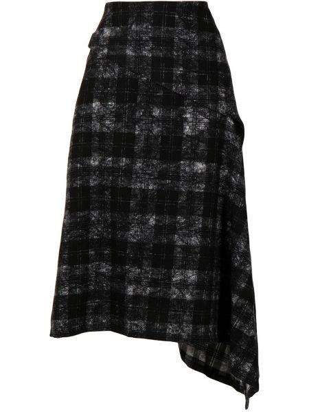Czarna spódnica wełniana Ys