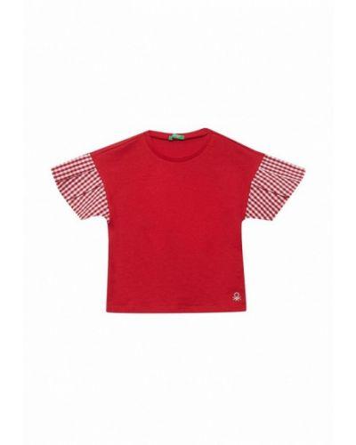 Красная футболка United Colors Of Benetton