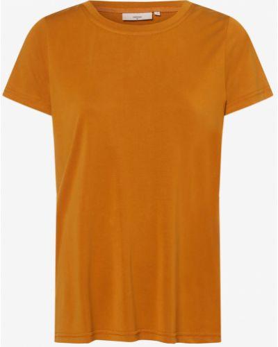 T-shirt - żółta Minimum
