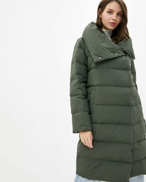 Зимняя куртка осенняя зеленая Befree