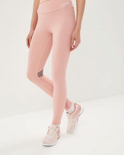 Розовые леггинсы спортивные Zasport