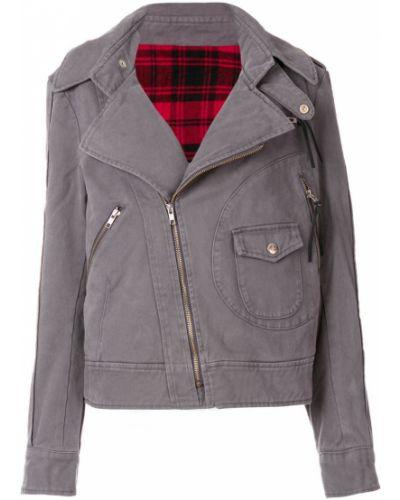 Джинсовая куртка длинная байкерская Vivienne Westwood