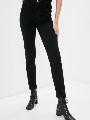 Черные зимние джинсы Love Republic