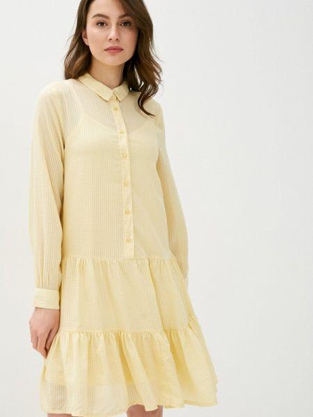Желтое платье Ichi