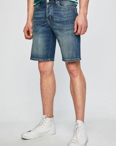 Джинсовые шорты с карманами на пуговицах Scotch & Soda